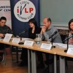 Moderator and three panelists