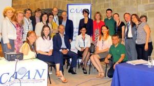 Účastníci 3. výroční konference ENAM.