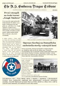 Zvláštní vydání ambasádních novin k 71. výročí osvobození ke stažení (PDF, 1.3 MB).