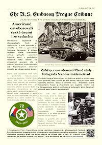 Zvláštní vydání ambasádních novin k 72. výročí osvobození ke stažení (PDF, 1.3 MB).