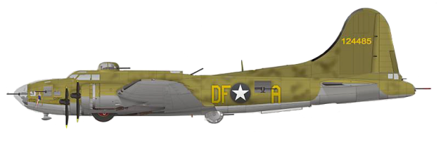 The B-17 Flying Fortress called Memphis Belle (Serial No 41-24485) i
