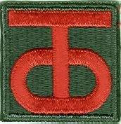 Divizní odznak 90. pěší divize