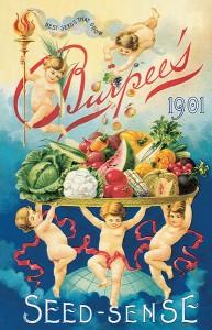 Obal katalogu z roku 1901 amerického společnosti Burpee Seeds, která zdarma zasílala semena i do odlehlých částí USA.